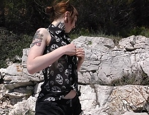 101420_fun_in_the_sun_dildoing_and_pussy_licking_on_public_croatia_beach_miss_pussycat_with_suicide_girl_andy_teen